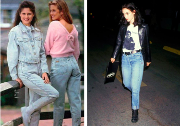 Campinascombr Absolutamente Jeans Tendência Anos 80 E 90
