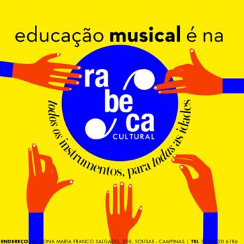 Rabeca Cultural oferece aulas de música para todas as idades