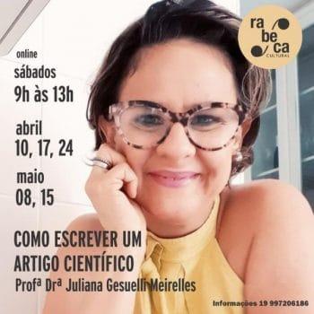 Rabeca Cultural promove curso on-line sobre como escrever um artigo científico